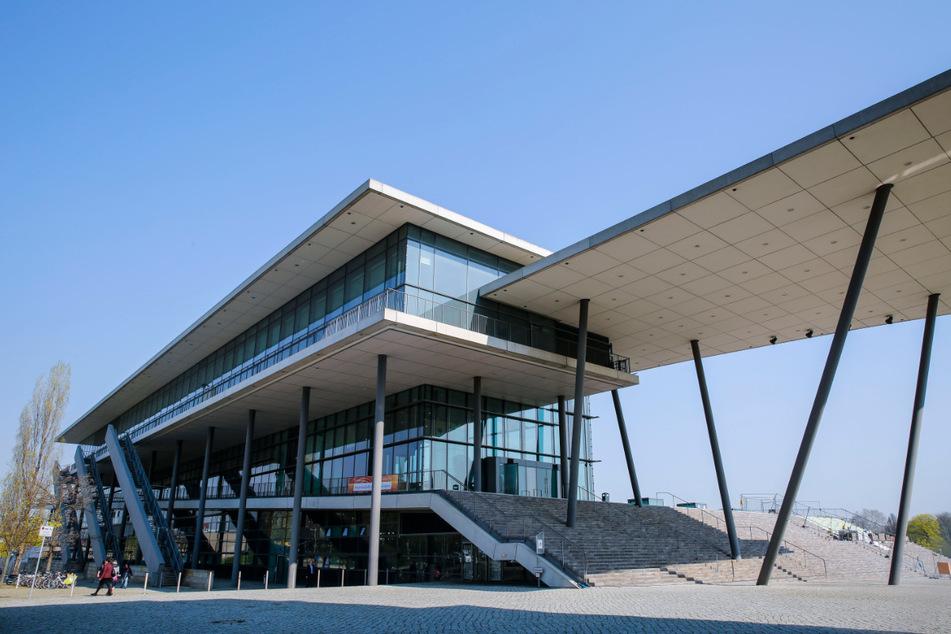 Auch in Sachsen dürfen Kongresse wieder stattfinden. Auf dem Foto ist das Kongresszentrum in Dresden zu sehen.