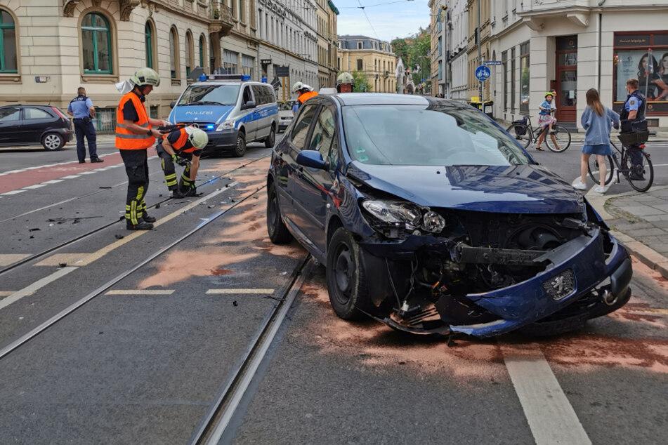 Unfall in Leipzig: Hier kommt es aktuell zu Verkehrsbehinderungen