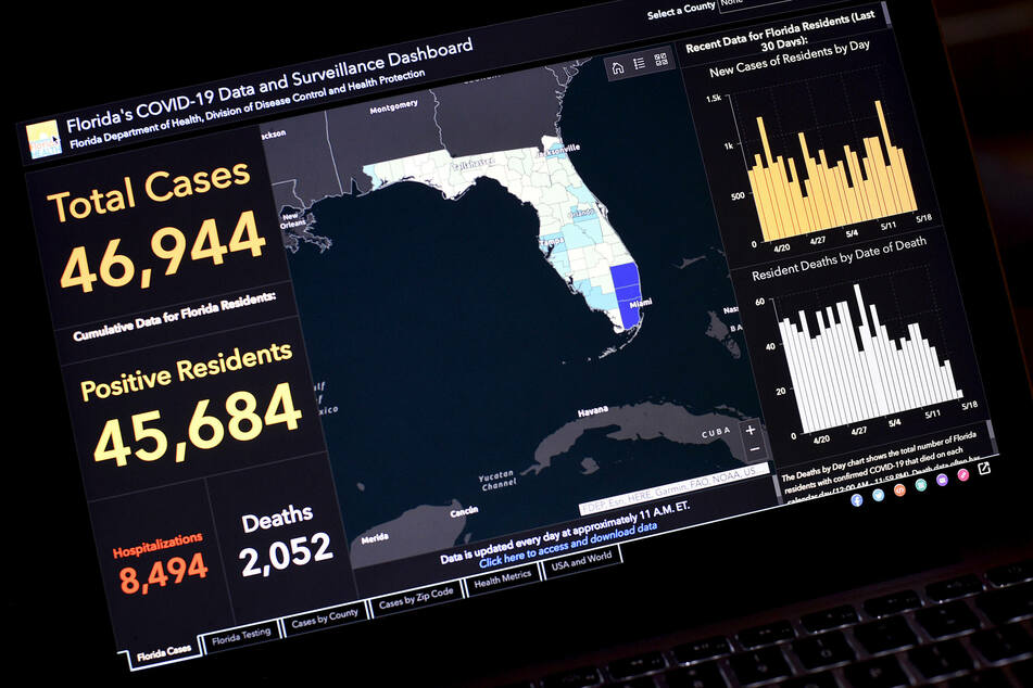 Armed Florida police raid home of Covid-19 data whistleblower