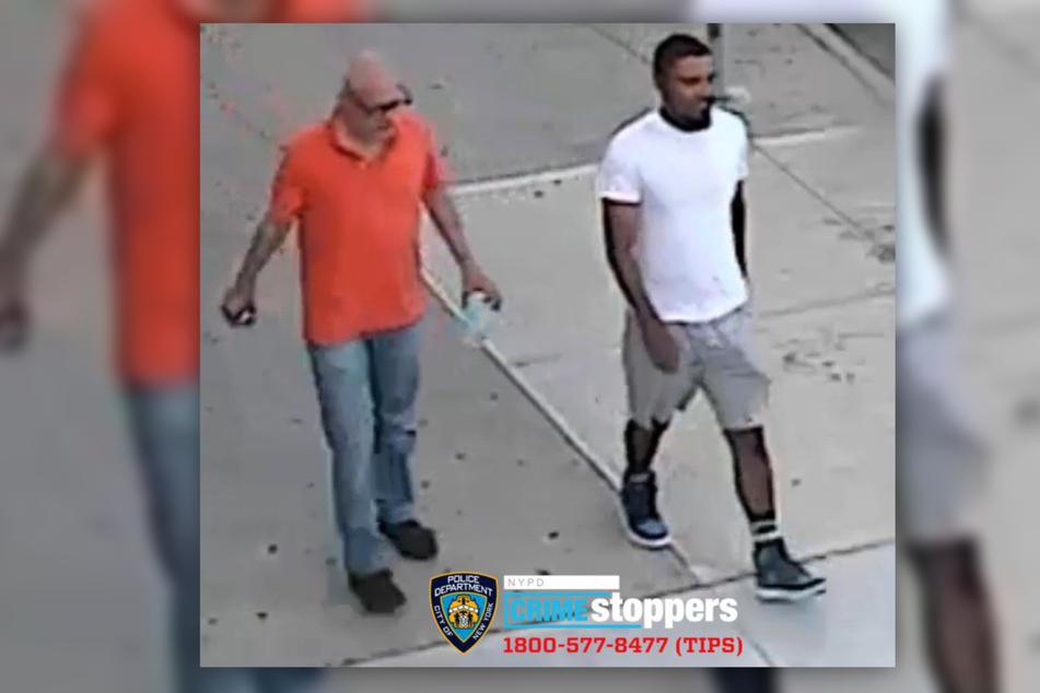 Die Polizei veröffentlichte mehrere Bilder der Täter. James McGonagle (24, r.) konnte bereits gefasst werden. Von seinem Komplizen fehlt weiterhin jede Spur.