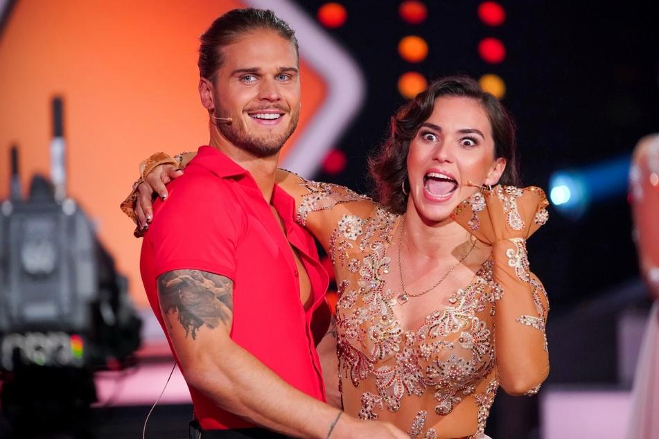 Rúrik Gíslason (33) und seine Tanzpartnerin Renata Lusin (33): Beide ertanzten sich in der Kennenlernshow eine Wildcard und somit vorerst vor dem Rauswurf geschützt.