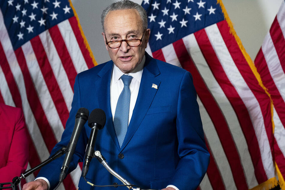 Senate Majority Leader Chuck Schumer said opposition to DC statement is a Republican attempt to restrict voter access.