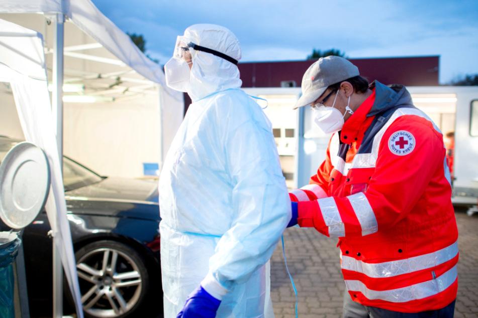 Das Deutsche Rote Kreuz (DRK) in Baden-Württemberg bereitet sich darauf vor, in der kommenden Woche landesweit Corona-Schnelltests anzubieten.