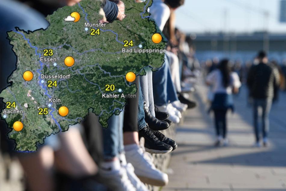Sonnenbrillen auf! In NRW wird's die kommenden Tage sonnig und sommerlich warm