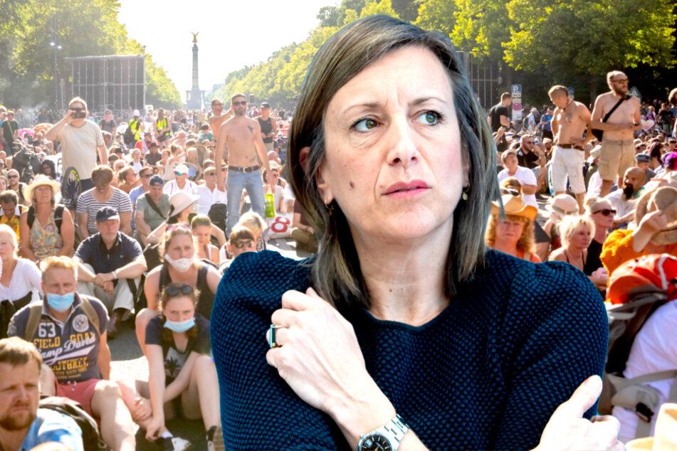 Regierung kritisiert Missachtung von Hygieneregeln bei Demonstration scharf!
