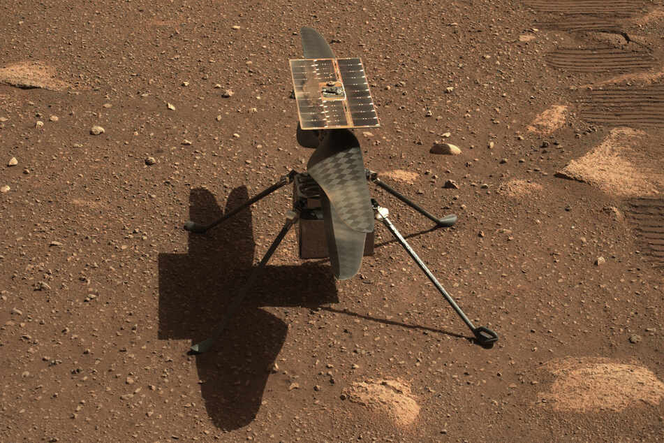 Das Fliegen auf dem Mars ist wesentlich komplizierter als auf der Erde.