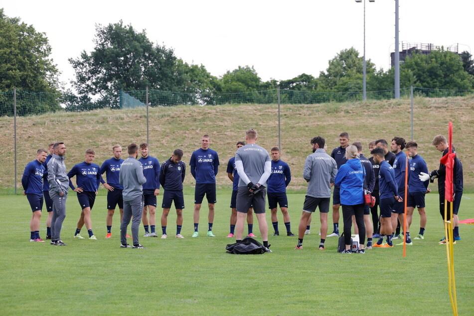 Mehrere Spieler des Chemnitzer FC wurden positiv auf Corona getestet.
