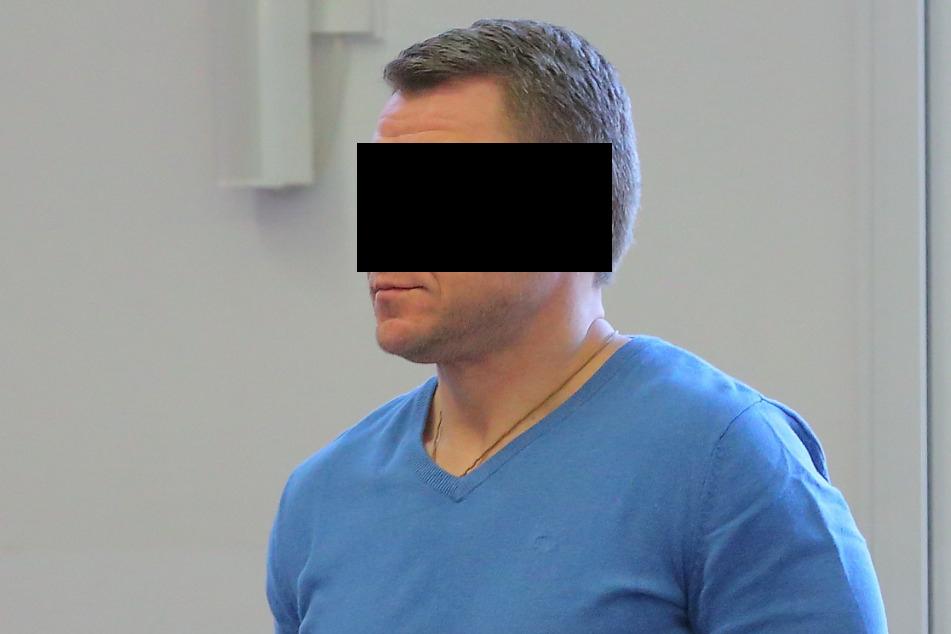 Anatolij P. (41) soll laut Anklage einer der Juwelenräuber sein.