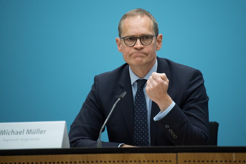 Berlins Regierender Bürgermeister Michael Müller will für den Bundestag kandidieren.