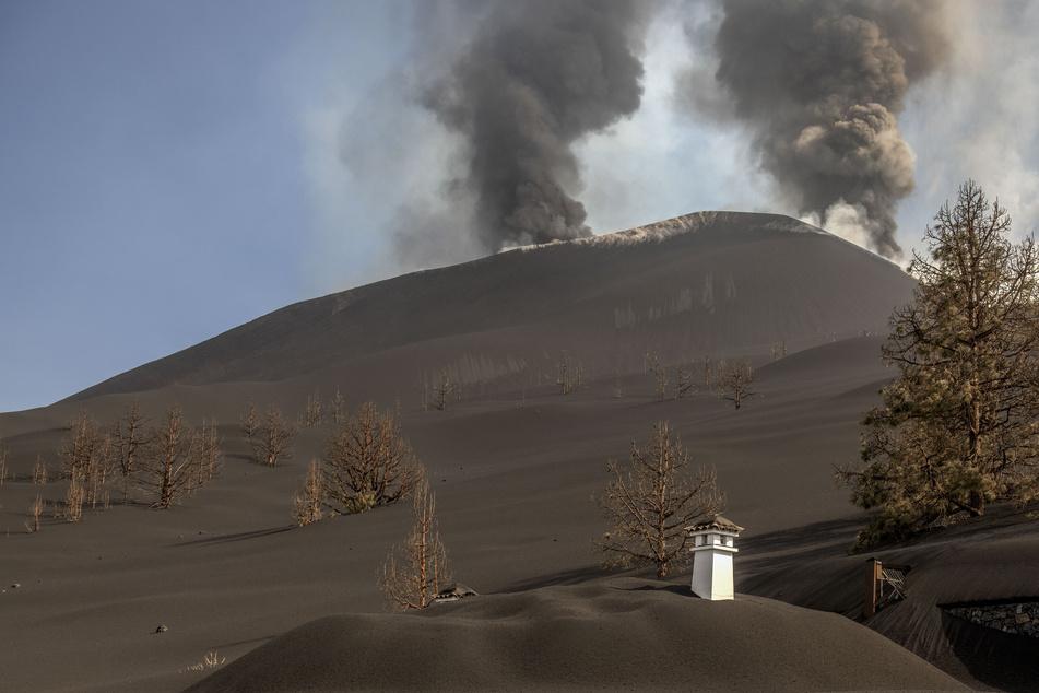 """Fläche von 980 Fußballfeldern zerstört: Lava ergießt sich auf La Palma wie ein """"Tsunami""""!"""