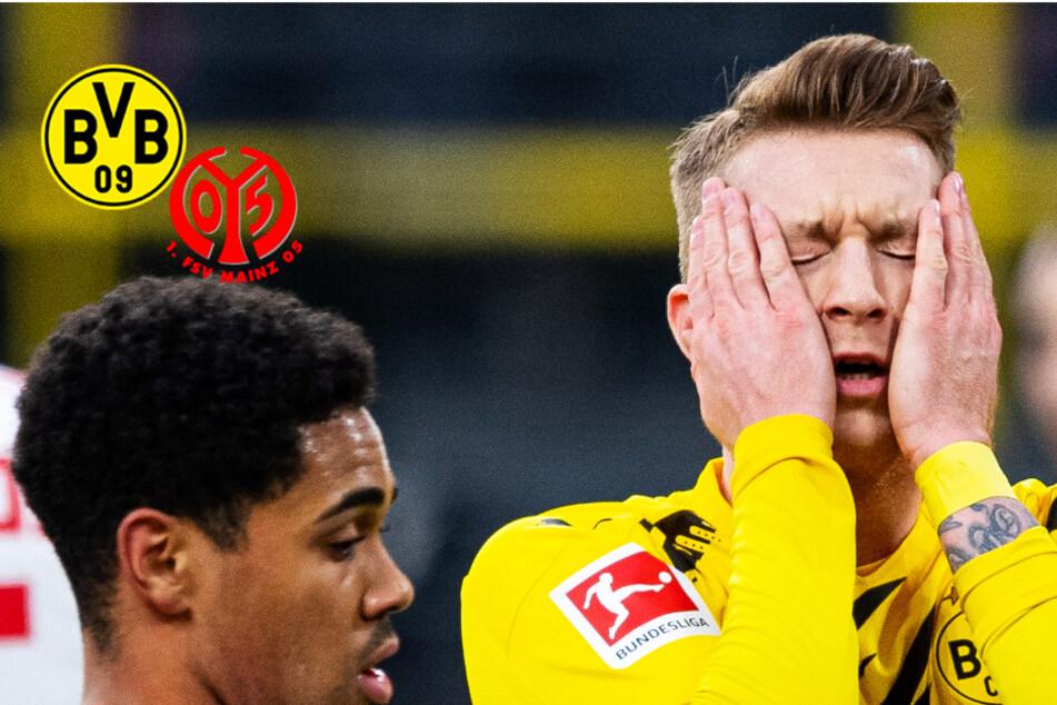 BVB-Achterbahnfahrt gegen Mainz! Dortmund holt 0:1 auf, doch Reus verschießt Elfmeter