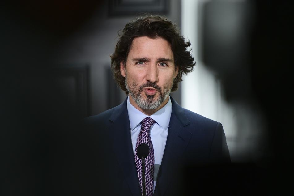 Justin Trudeau (49), Premierminister von Kanada.