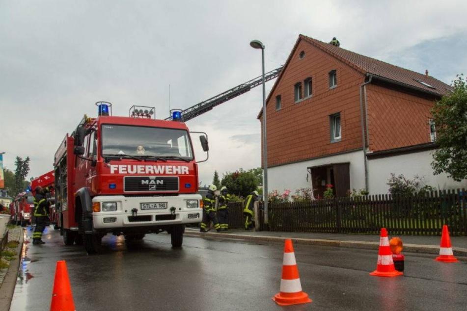 Heftige Gewitter über Sachsen! Blitz schlägt in Wohnhaus ein