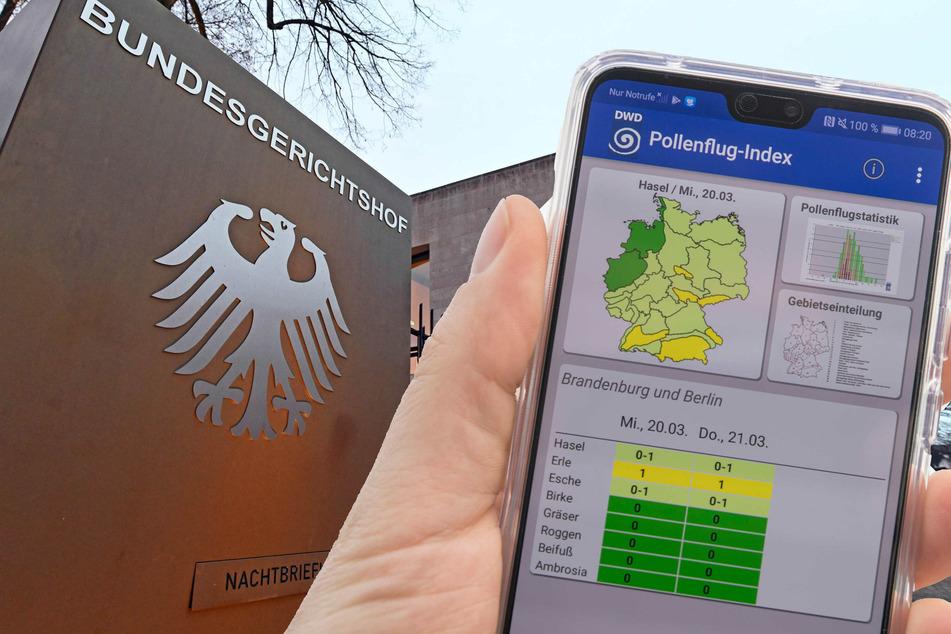 Krieg der Wetter-App-Anbieter: Kassiert Deutscher Wetterdienst Niederlage vor dem BGH?