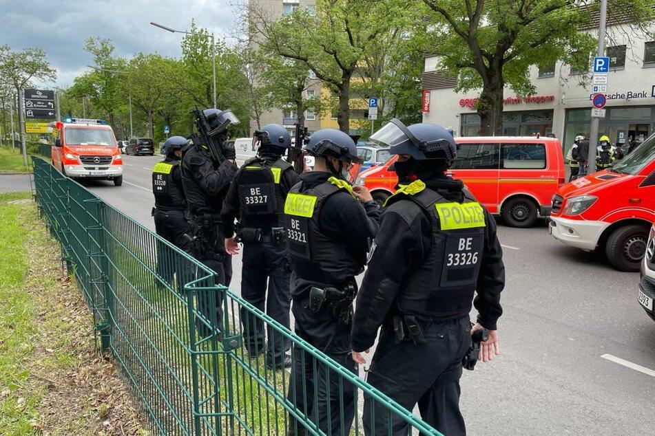 Am Mittwochvormittag wurde eine Bankfiliale in Berlin-Neukölln überfallen.