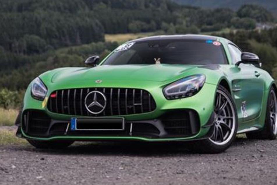 Mercedes AMG GT-R am Nürburgring gestohlen!