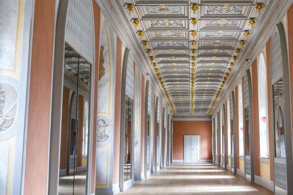 Restaurierung im Residenzschloss: Das ist Sachsens kostbarster Korridor