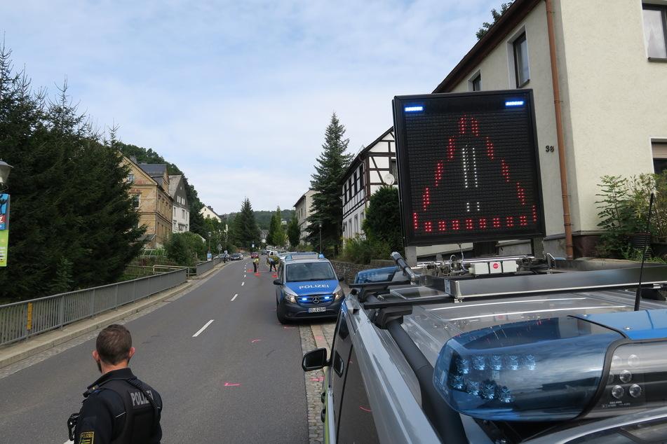 Gleich drei Unfälle gab es am Dienstagmorgen in Grünhain-Beierfeld.