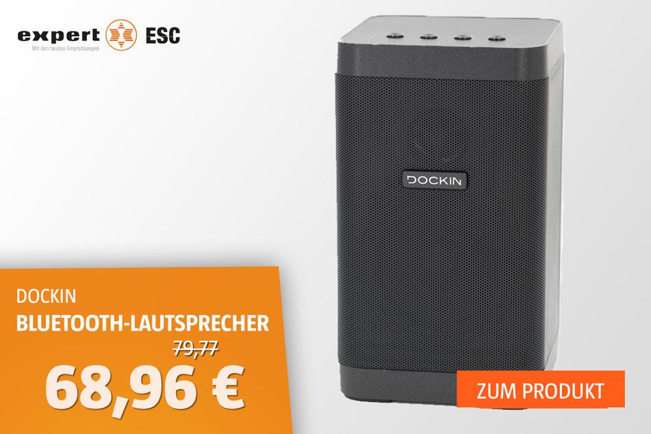 Dockin D-Cube Bluetooth-Lautsprecher für 68,96 statt 79,99 Euro