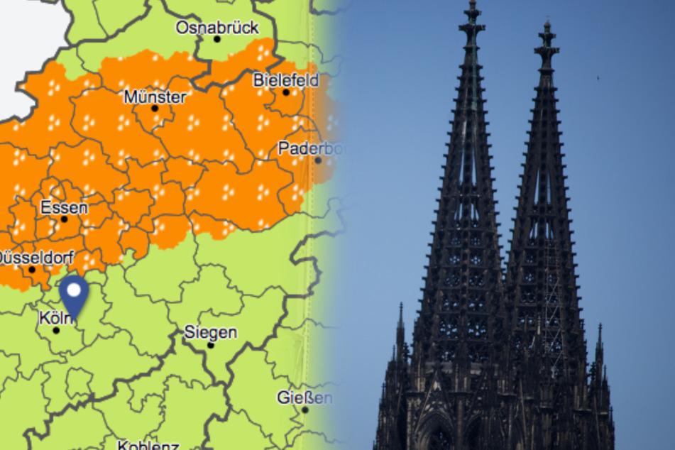 Da braut sich was zusammen: Stürmisches Wetter in NRW angekündigt!
