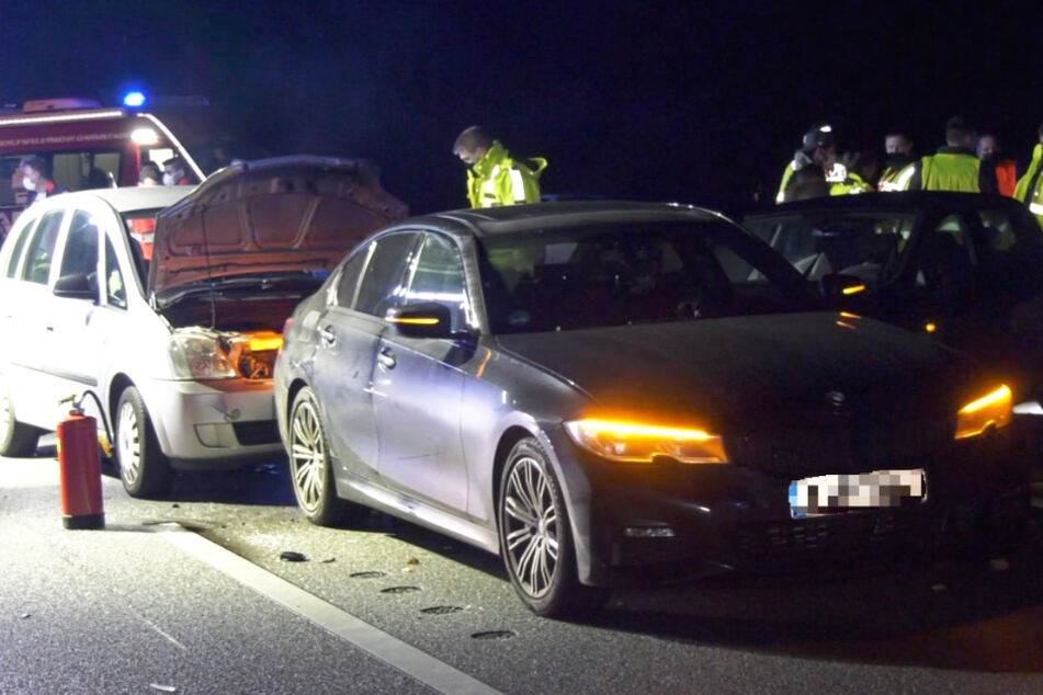 Die beiden Unfälle auf der A5 ereigneten sich am Mittwochabend gegen 19 Uhr.