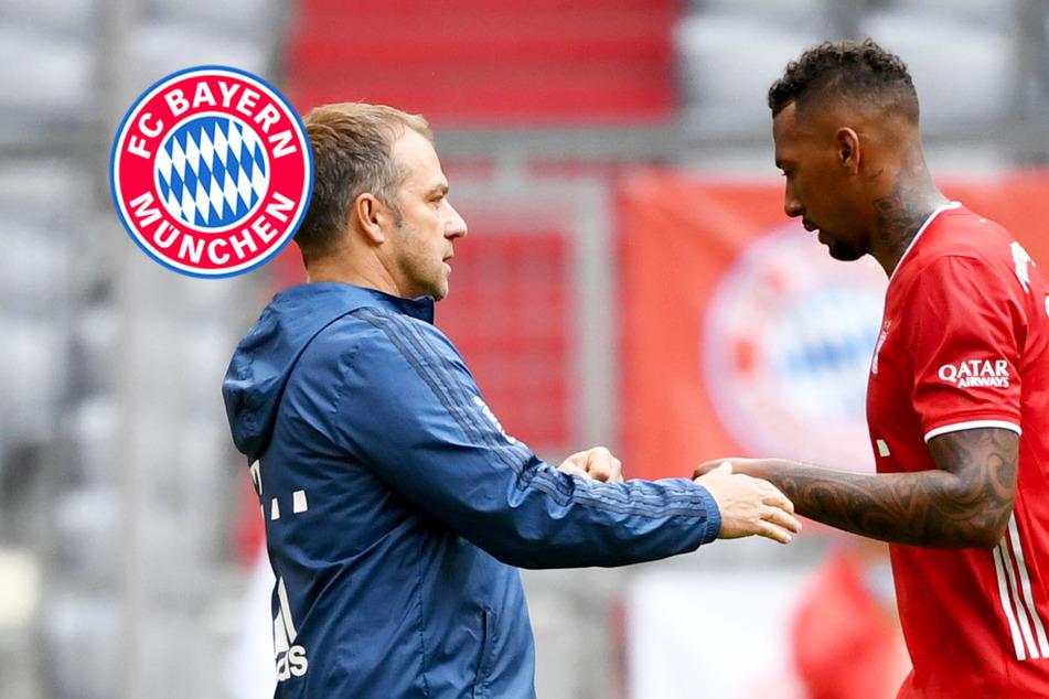 Angeblicher Boateng-Abschied: So meldet sich Bayern-Coach Flick zu Wort