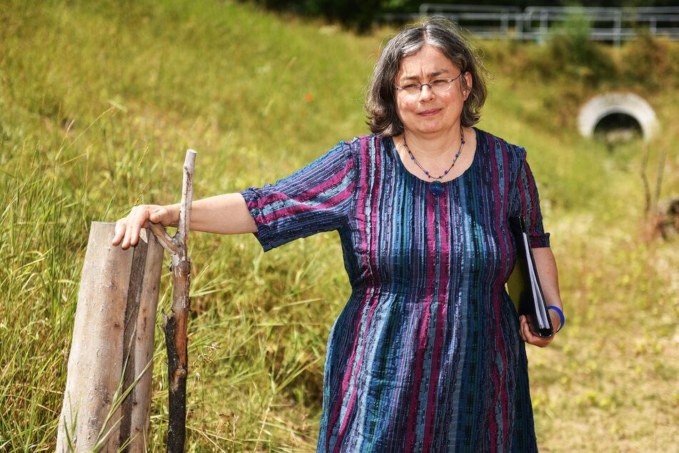Umweltbürgermeisterin Eva Jähnigen (54, Grüne).