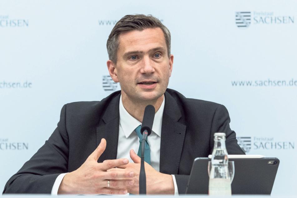 Hat die Aufnahme des Ausbauvorhabens in den Bundesverkehrswegeplan erstritten: Sachsens Wirtschaftsminister Martin Dulig (46, SPD).
