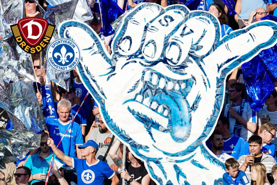 """""""30.000+ Geister für Dynamo"""": Auch die Lilien-Fans sind am Start"""