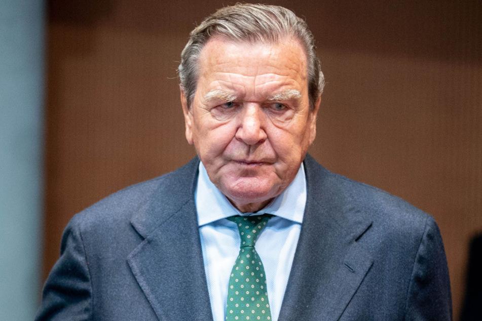 Der frühere Bundeskanzler Gerhard Schröder (76, SPD).