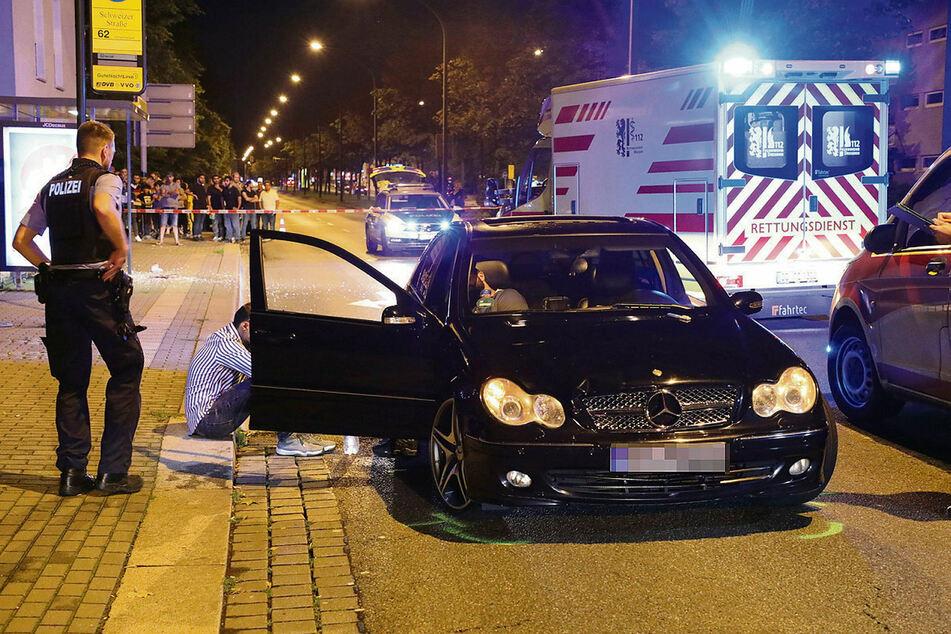 Der Mercedes, der das Kind erfasste, wurde sofort sichergestellt.