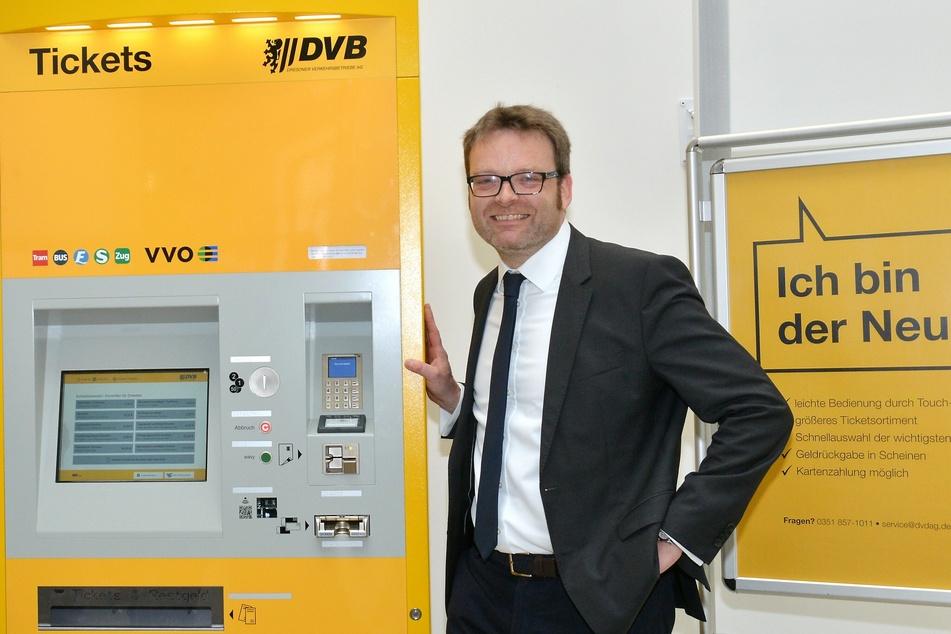 Martin Gawalek (44) ist bei den DVB Prokurist und Centerleiter für Verkehrsmanagement und Marketing.