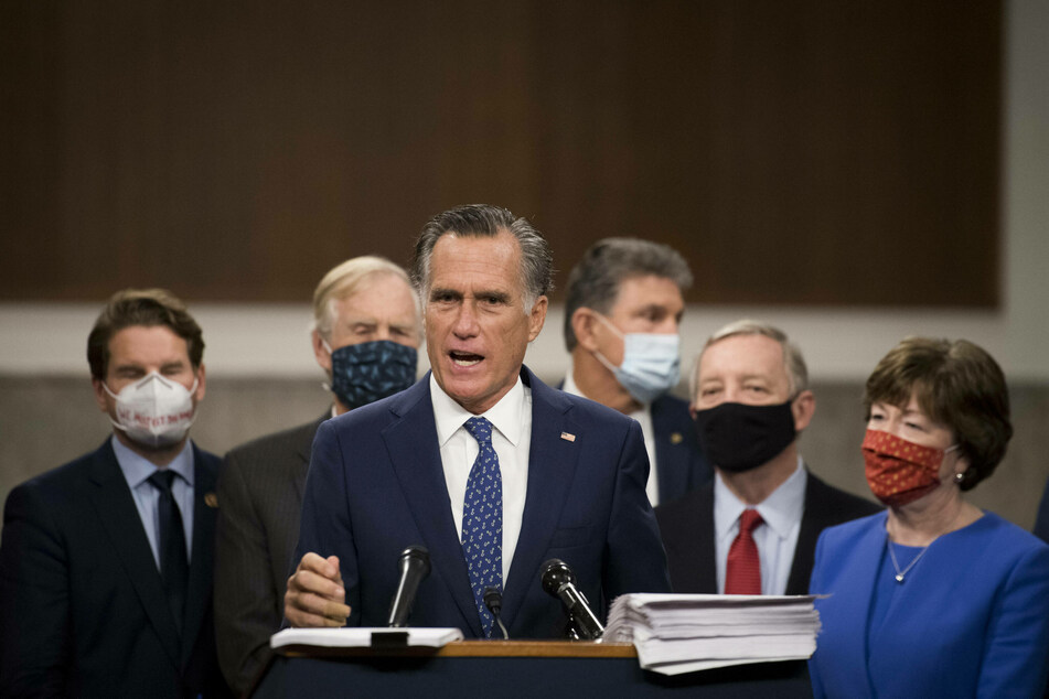 Utah Senator Mitt Romney has been among the most vocal Republican critics of President Trump and his efforts to challenge the legitimacy of the election.