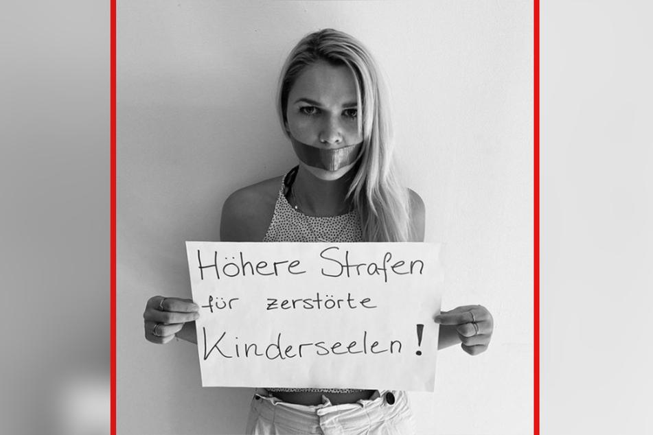 Sara Kulka (29) wünscht sich eine Gesetzesänderung.