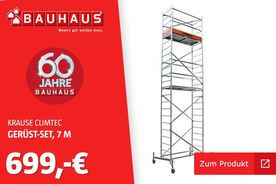 Gerüst-Set 'ClimTec' für 699 Euro.