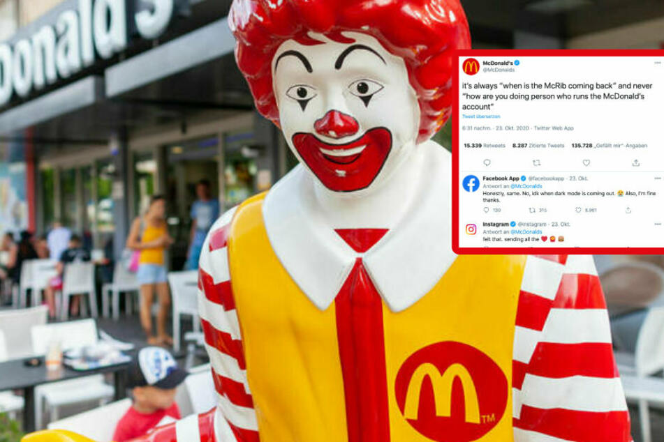 McDonald's employee seeks human connection, Facebook and Instagram react