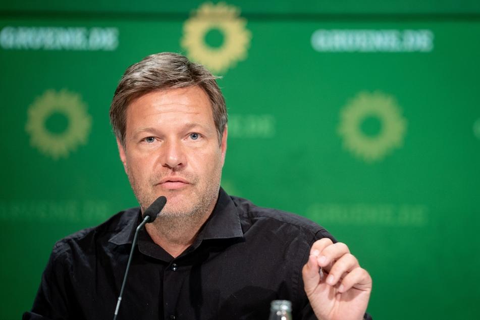 Robert Habeck (50), Bundesvorsitzender von Bündnis 90/Die Grünen.