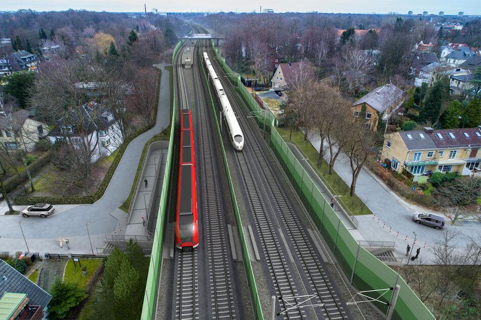 Milliarden-Projekt! Bau für neue Hamburger S-Bahn-Linie startet