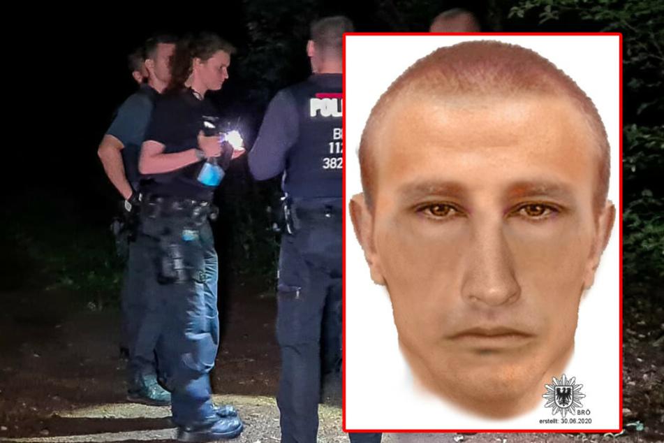 Joggerin (27) vergewaltigt: Mit diesem Phantombild jagt die Polizei den Täter