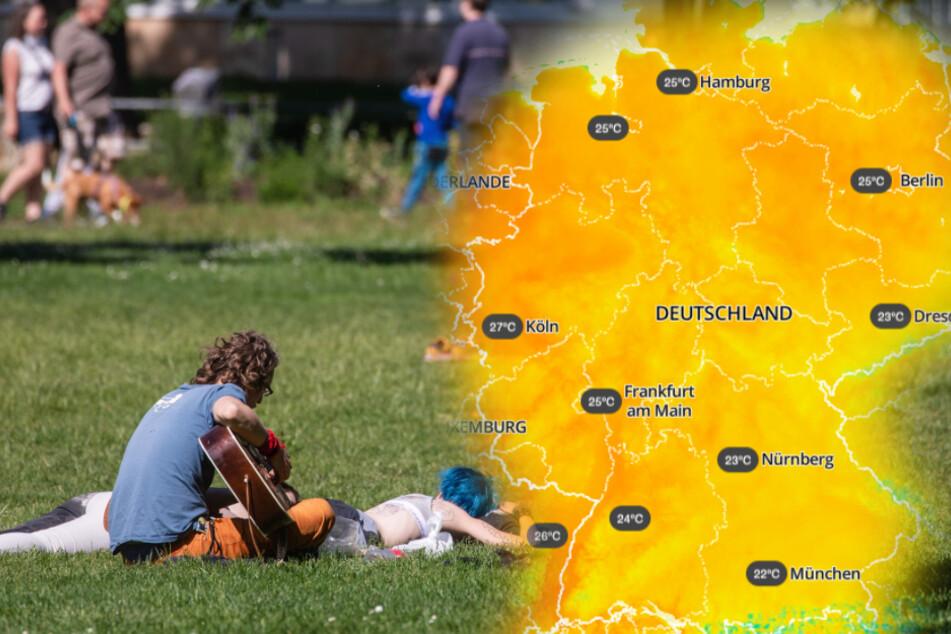 30-Grad-Marke: Wird heute der bislang heißeste Tag des Jahres?