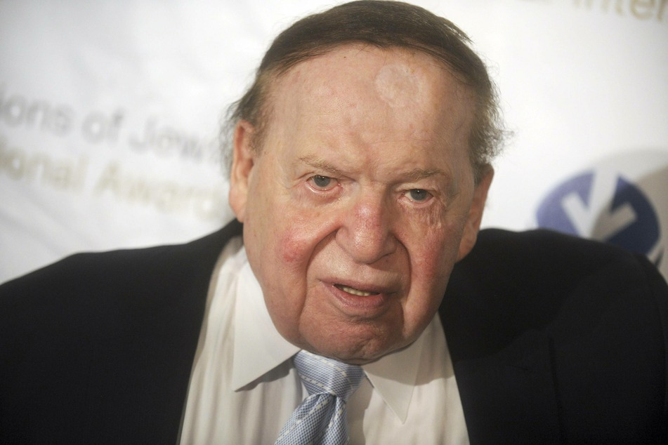 Billionaire and Trump ally Sheldon Adelson has died at the age of 87 (archive image).