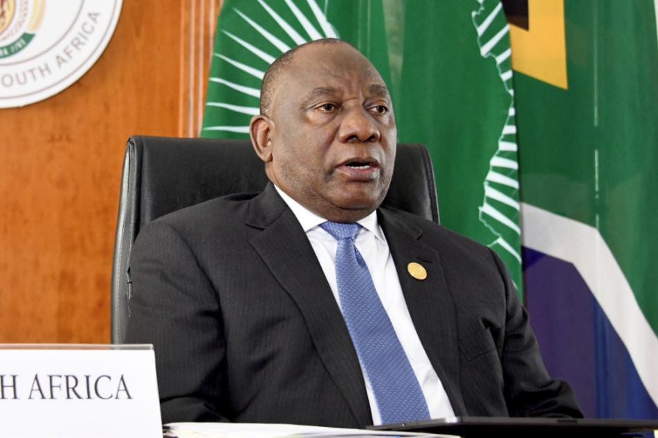 Südafrikas Präsident Cyril Ramaphosa (67).