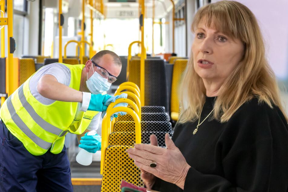 Ministerin Köpping ruft auf, Busse und Bahnen zu meiden