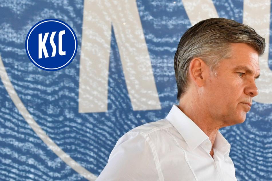 Insolvenz-Gefahr beim KSC: Präsident Wellenreuther denkt an Rücktritt, wenn...