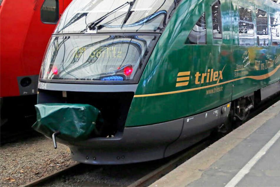 Der Trilex war auf der Strecke Dresden - Bautzen - Görlitz unterwegs, als es zu dem Unfall kam. (Symbolbild)