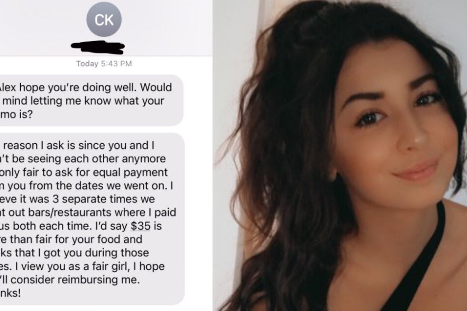 Date asks woman for his money back after she rejects him