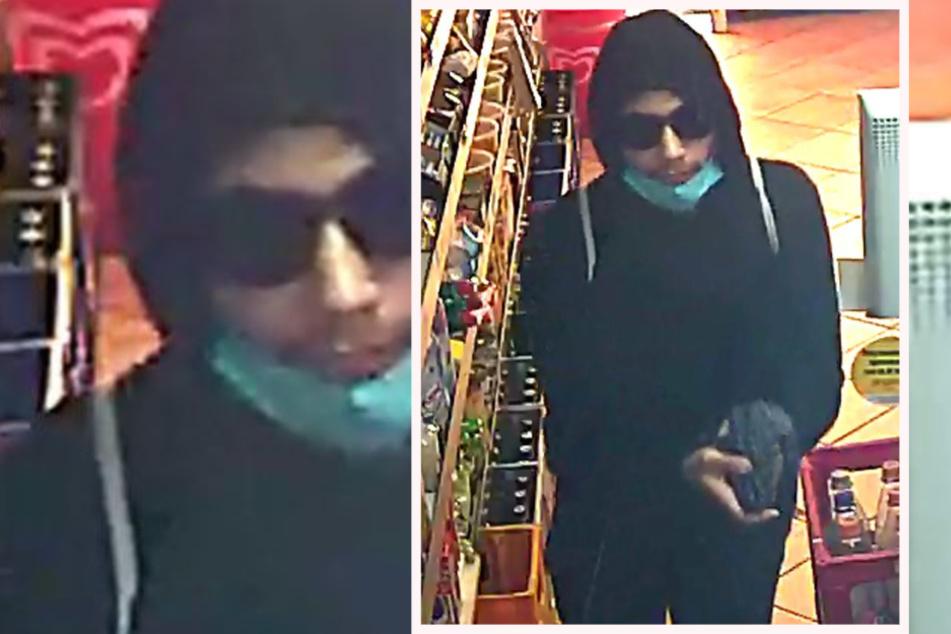Bewaffneter Überfall auf Kiosk: Polizei Frankfurt sucht diesen Mann
