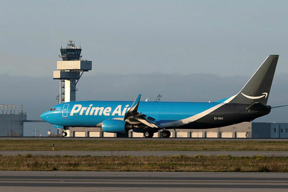 Freitagnachmittag landete die erste Prime Air Maschine von Amazon auf dem Flughafen Leipzig/Halle.