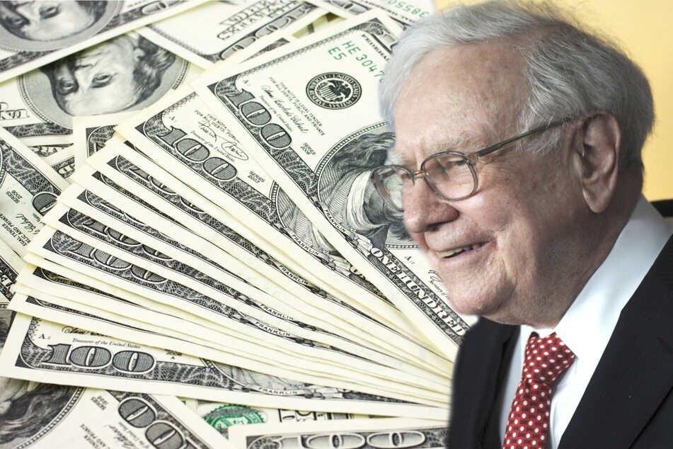 The ProPublica analysis showed Warren Buffett had a true tax rate of just 0.10% (collage, stock image).