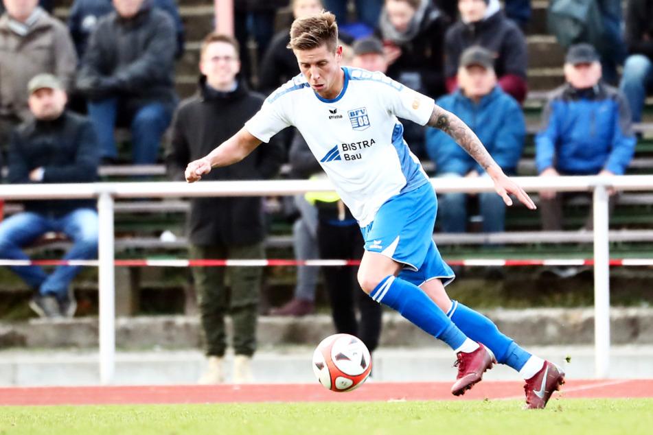 Hannes Graf (23) verließ Bischofswerda als einer von vielen Leistungsträgern und schloss sich Liga-Konkurrent SV Lichtenberg 47 an.